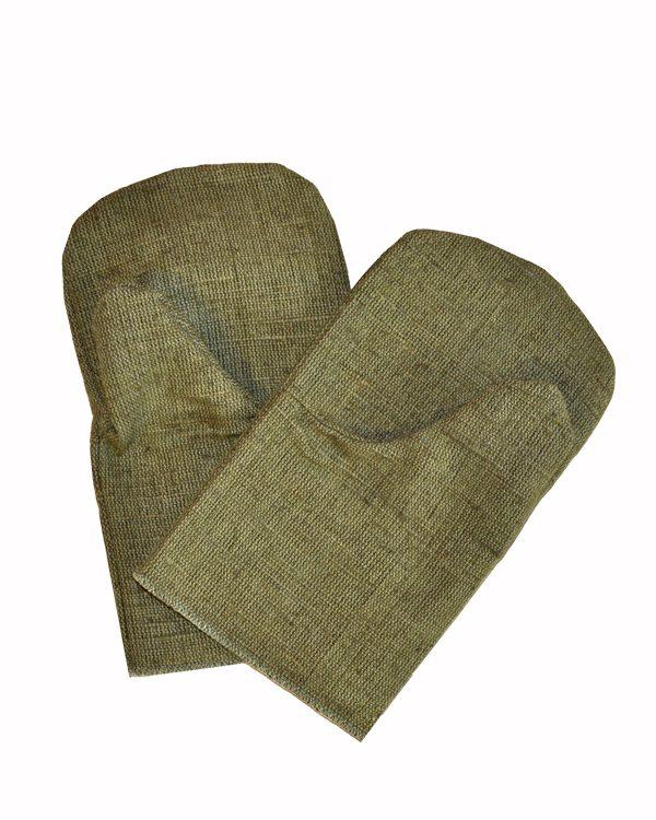 рукавицы брезентовые, двупалые перчатки, сварочные рукавицы