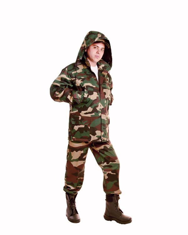 костюм утепленный, куртка зимняя, на синтепоне, для охраны и рабочих склада